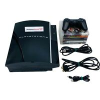 PlayStation 3 / PS3 Bundle | 40GB Fat Console / 1 Controller / 6 Games | CECHG01