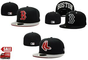 Boston Red Sox Hat, MLB New Fitted Cap, MLB Official, pick your Favorite style