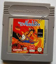 Game Boy Classic-Disney 's Aladdin-solo módulo-usado, en buenas condiciones