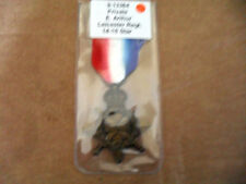 CASUALTY 14-15 STAR TO 9-13364 PTE E ARTHUR LEICESTER REGT HIGHLAND LIGHT INF