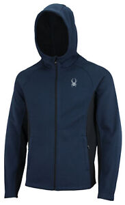 Spyder Men's Constant Full Zip Hooded Jacket, Color Options