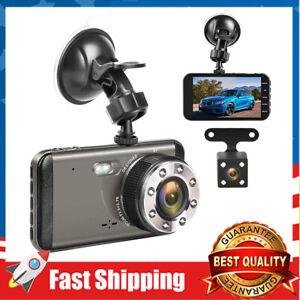 Effort Dual Dash Cam Front & Rear,FHD 1080P Night Vision Car Camera w/ Screen