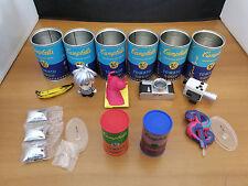 Kidrobot Andy Warhol Campbell's Soup Can - Vinyl 9pcs Set