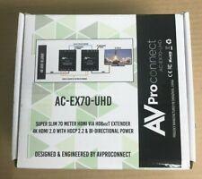 AV Proconnect AC-EX70-UHD NEW IN BOX