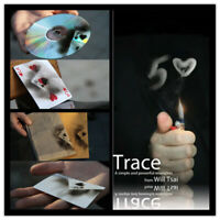 Trace (Gimmick and DVD) by Will Tsai -Magic Tricks Powerful Tool Card Magic Prop