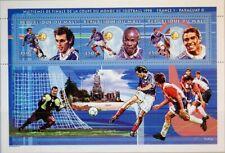 MALI 1998 2124-35 Block 128 983-987 Soccer WC France Fußball WM Football MNH