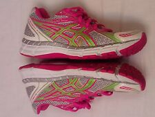 Asics Gel Excite 2 Women's Pink Green Silver Jogging Sneakers Shoes Size 6.5