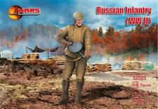 MARS 1/32 WWII Russian Infantry Soldiers Set 32025 NEW!