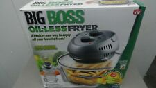 Big Boss Oil-less Air Fryer, 16 Quart, 1300W, Easy Operation self-cleaning
