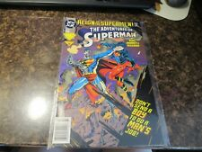 The Adventures of SUPERMAN # 503 (1993) Cyborg vs. The New Superboy DC