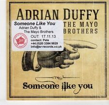(EL277) Adrian Duffy & The Mayo Brothers, Someone Like You - 2013 DJ CD