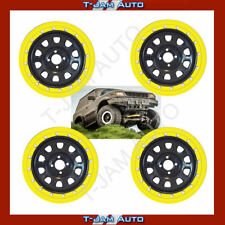 "Bead Lock Simulator Kit Suits 16"" Wheels 4WD OFF ROAD Set of 4 Yellow"