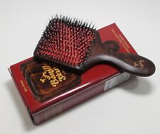 Banilla Skunk Boar Bristle Nylon Beechwood Cushion Detangle Portable Hair Brush