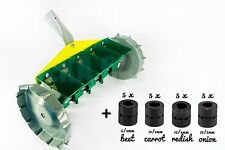 Garden Metal Precision Seeder Vegetable 5 Row Manual Planter sowing small seeds