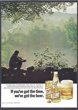 MILLER High Life Beer 1971 Vintage Print Ad 154 2
