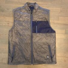 Johnnie-O West Coast Prep-Formance Quilted Full Zip Vest Men's Size XL $115