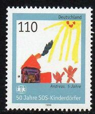 GERMANY MNH 1999 SG2913 50th Anniversary of the SOS-Children Village