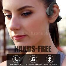Bone Conduction Stereo HiFi Headphones Open Ear Wireless Bluetooth Earphone Mic