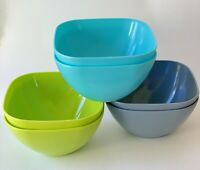 ODEA 24 Piece Salad/Snack/Pasta/Cereal Bowl Set .5 L Durable Reusable & BPA Free