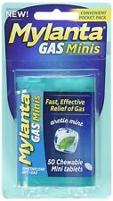 Mylanta Gas Mini Chewable Tablets Arctic Mint 50 Count