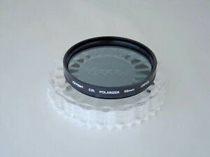 TIFFEN 58mm CIR POLARIZER w/CASE JAPAN