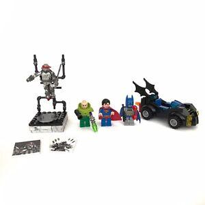 Lego minifigures lot Batman Superman Lex Luthor Ninja Turtle Raphael Mega Bloks