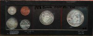 Uncirculated 1958 Canada Silver Proof-Like Set