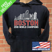 BOSTON RED SOX 2018 WORLD SERIES CHAMPIONSHIP HOODIE