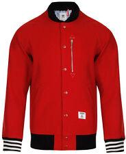adidas Woolen Waist Length Collared Men's Coats & Jackets