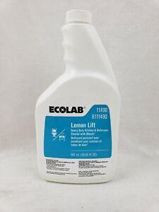 Ecolab Lemon Lift Liquid Kitchen Bathroom Cleaner 20 oz. #11490