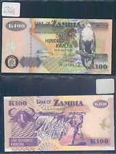 ZAMBIA 100 KWACHA 2006 UNC (rif. 244)