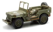 WILLYS MB Jeep 4x4 MODELO 1 :3 2 Escala Gerra Mundial 2 II EEUU