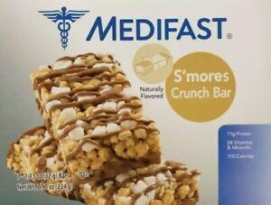 Medifast Optavia S'mores Crunch Bars 7 Meals New