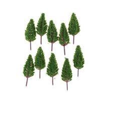 10pcs/set 68mm Plastic Model Trees for Park Street Landscape Scene Scenery FT