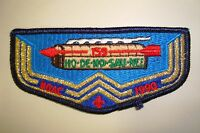 OA HO-DE-NO-SAU-NEE 159 NIAGARA FRONTIER COUNCIL PATCH 1990 NOAC DELEGATE FLAP