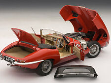 JAGUAR E-TYPE ROADSTER SERIES I 3.8 (RED) AUTOART MODEL 1/18 #73601