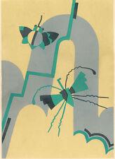 ART DECO SERGE GLADKY POCHOIR, Nouvelles Compositions Decoratives, 1929