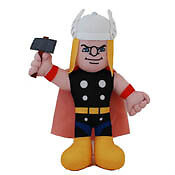 Superhero Squad Marvel Comics Thor Plush 24 INCHES! NWT