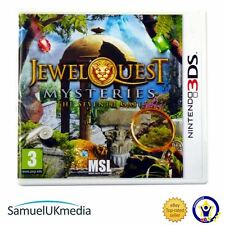 Jewel Quest Mysteries 3 - The Seventh Gate (Nintendo 3DS) **GREAT CONDITION!**