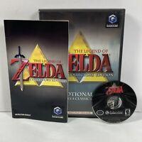 Legend of Zelda Collector's Edition (Nintendo GameCube, 2003) Tested Working !