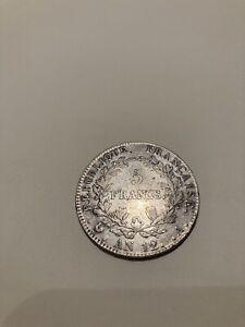 5 Francs An 12 A Type Intermédiaire