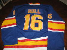 HOCKEY JERSEY ST-LOUIS BLUES BRETT HULL