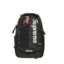 Top NEW Supreme 17ss Backpack Waterproof Box Logo Mountaineering Bags Travel
