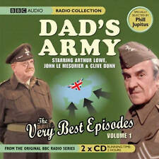 DAD'S ARMY THE VERY BEST EPISODES VOL 1 - NEW UNSEALED - 2 CD'S BBC AUDIO