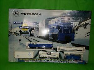 Legacy Motorola Athearn HO Train Set, Brand New in damage Packaging
