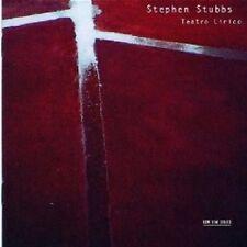 Stephen/Valent, Milos/Headley, E./Eilander... - Stephen Stubbs-teatro lirico CD NUOVO