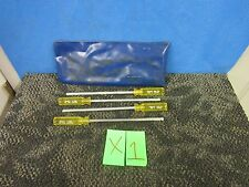 4 Piece Century Fluted Wrench Screwdriver Size 2 4 6 8 Star Metal Tool Used