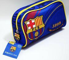 FC BARCELONA PENCIL CASE SCHOOL ACCESSORIES OFFICIAL FCB LICENCED GIFT SOUVENIR