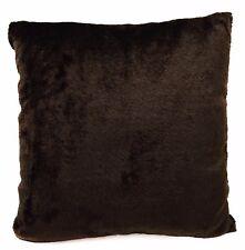 Fg29a Brown Plain Soft Faux Fur Material Cushion Cover/Pillow Case*Custom Size*