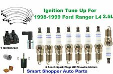 Ford Ranger Ignition Coil, Oil Air Filter Spark Plug Wire Set PCV Valve Tune Up
